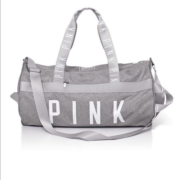 PINK Victoria s Secret Bags   Vs Pink Duffle Gym Bag   Poshmark 9f31cb1b32